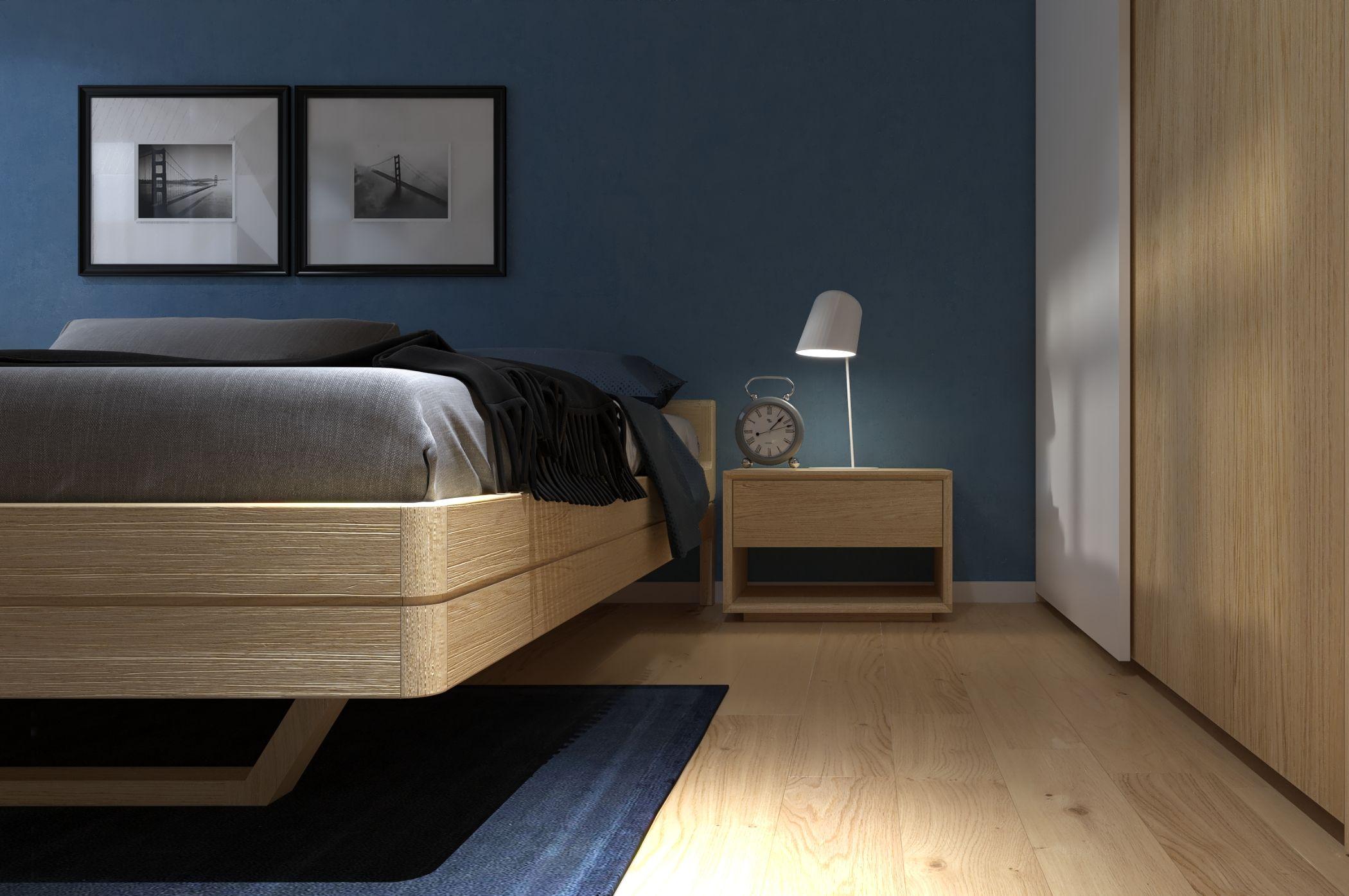 Hình ảnh thiết kế căn hộ Palm Heights 2 phòng ngủ đơn giản, tinh tế