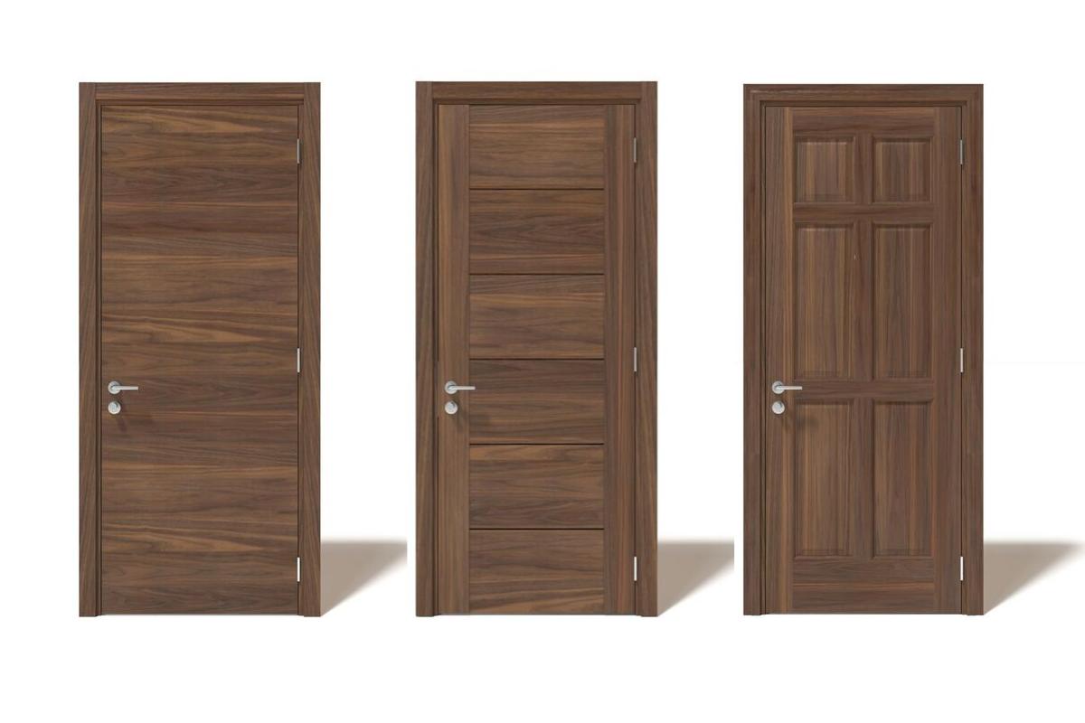 Thiết kế hiện đại ngày nay thì cửa gỗ màu cánh gián vẫn rất được ưa chuộng