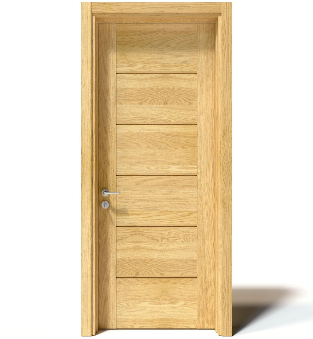 cửa gỗ sồi hiện đại Trường Thắng