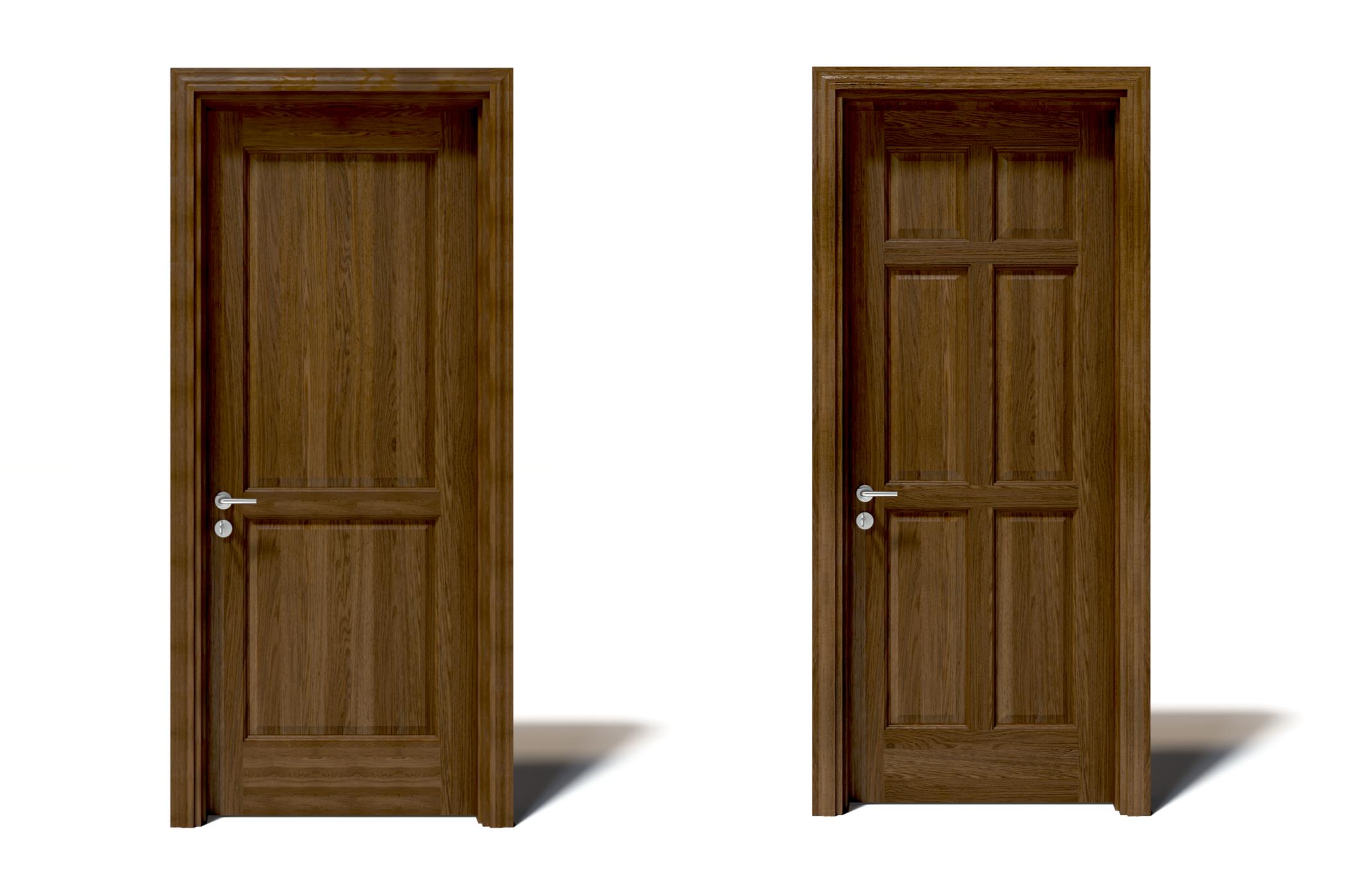Cửa gỗ màu cánh gián hay màu nâu mang ý nghĩa như thế nào?