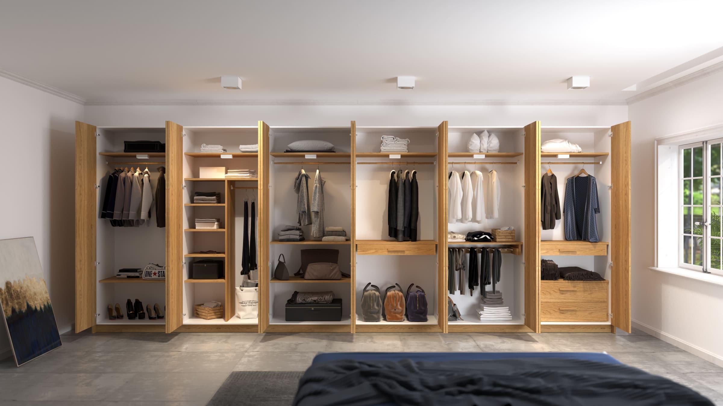 Ưu điểm của tủ quần áo lắp ráp bằng gỗ