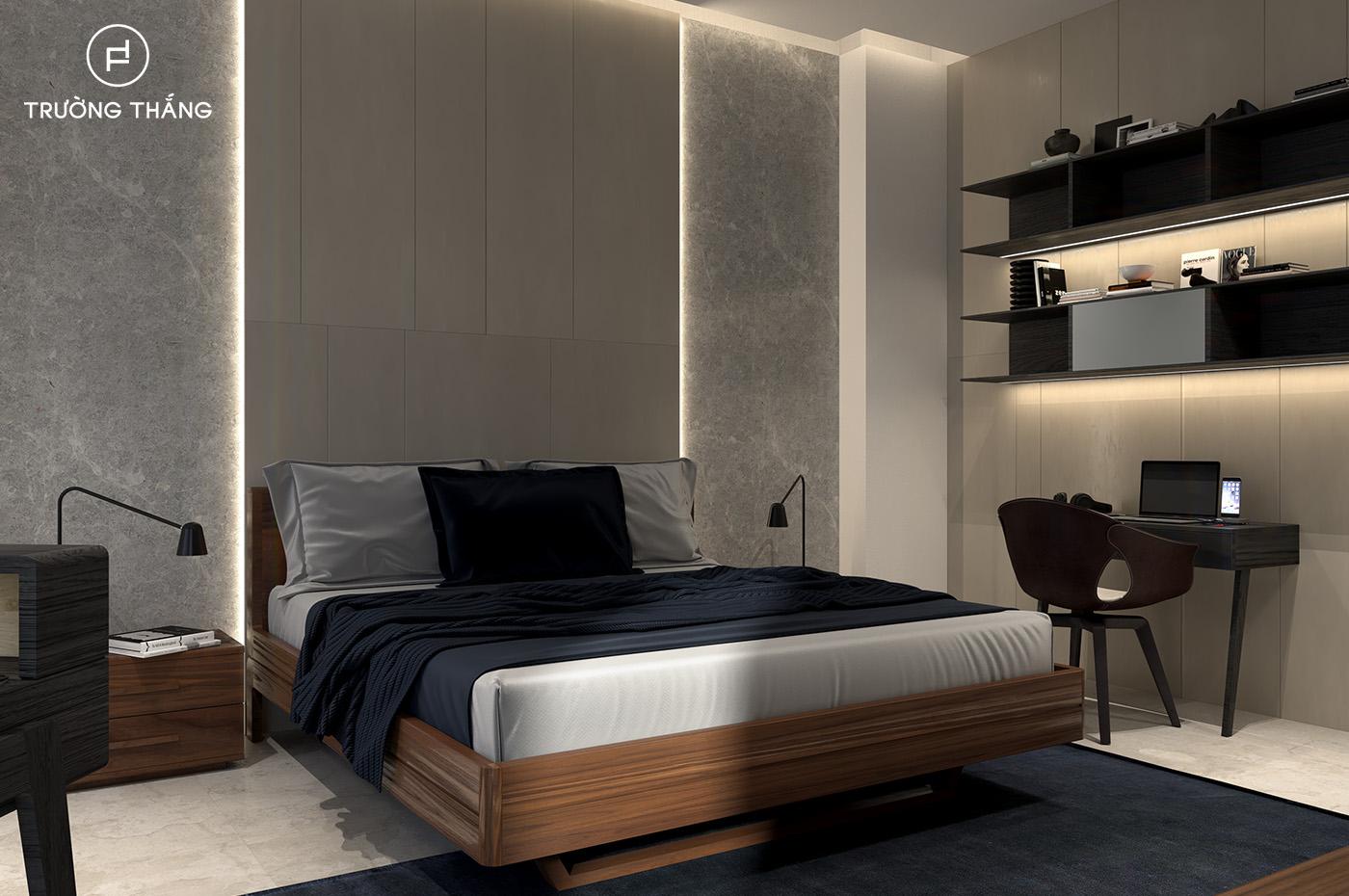 Phòng ngủ thiết kế riêng