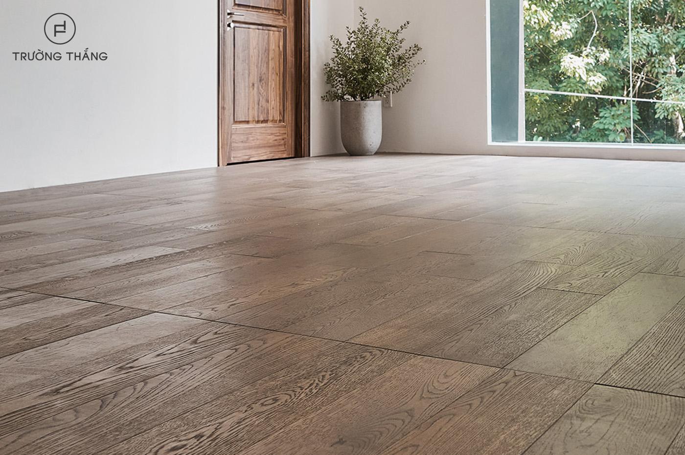 Sàn gỗ thiết kế riêng